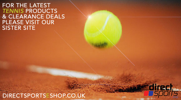 Latest tennis rackets, tennis shoes, tennis balls, tennis clothing discounts and deals at Direct Sports!
